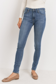 Just Black Denim Sidney Skinny Jeans - Product Mini Image