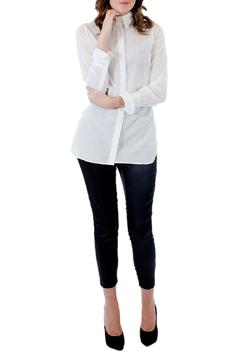 Sieben Long White Shirt - Product List Image