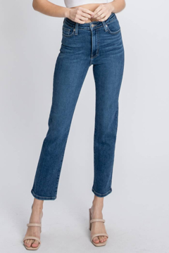 Letters to Juliet Siena High Rise Straight Leg Jean - Product List Image