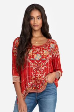 Johnny Was Sienna Blouse - Product List Image