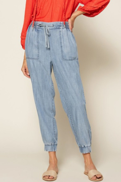 Shoptiques Product: Sienna Chambray Jogger