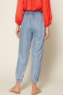 Skies Are Blue Sienna Chambray Jogger - Alternate List Image