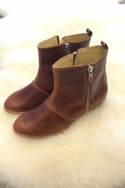 Be Mae Shoes Sienna Leather Booties - Front cropped