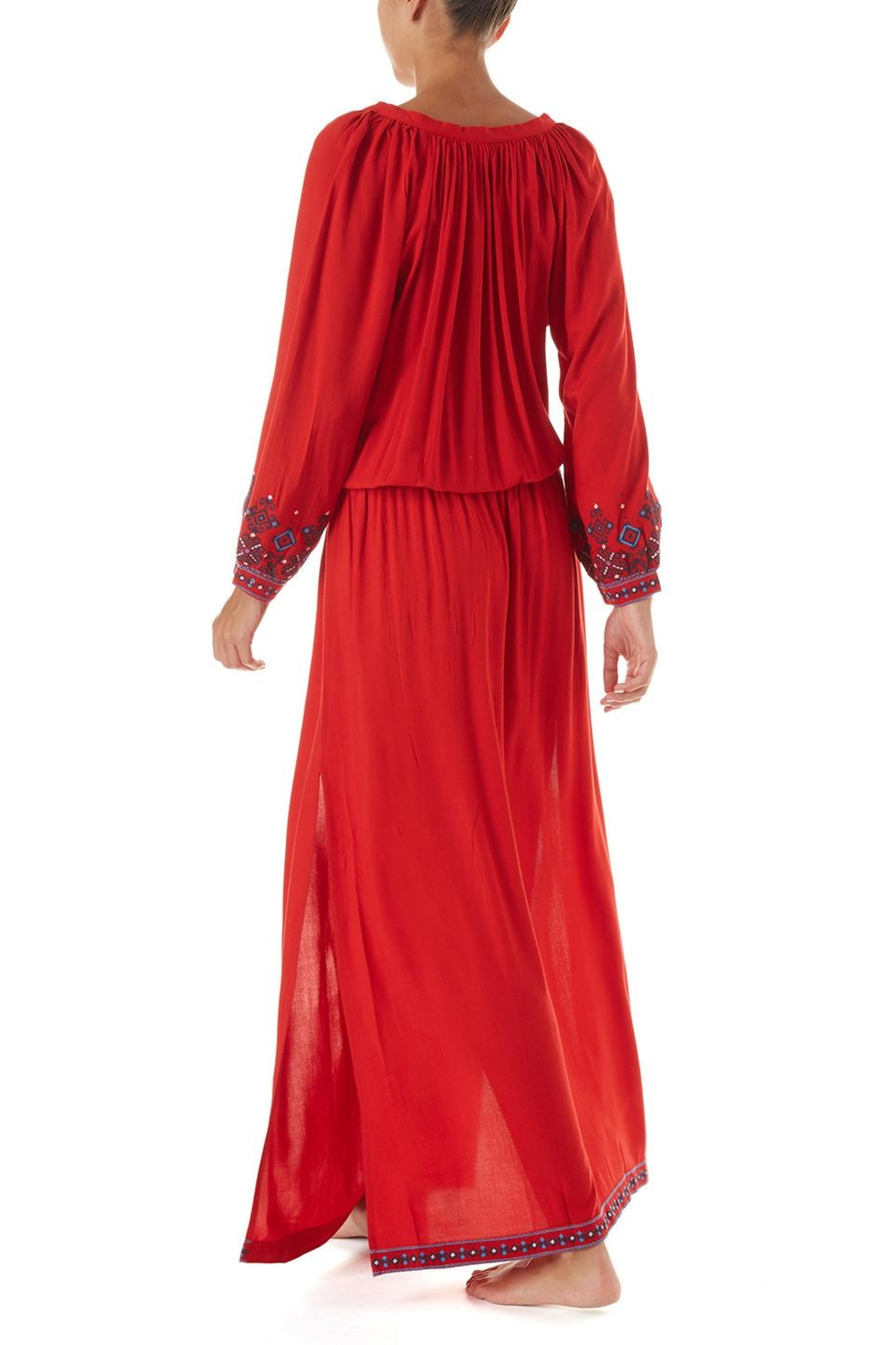 Melissa Odabash Sienna Maxi Dress - Side Cropped Image