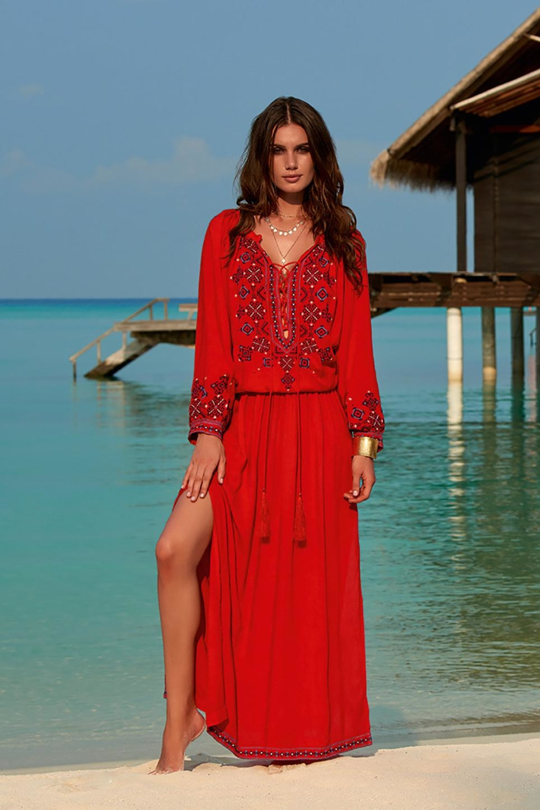 Melissa Odabash Sienna Maxi Dress - Main Image