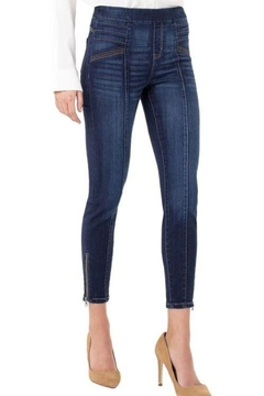 Shoptiques Product: Sienna Seamed Moto pull on