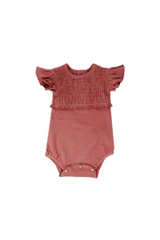 L'oved baby Sienna Smocked Onesie - Product Mini Image