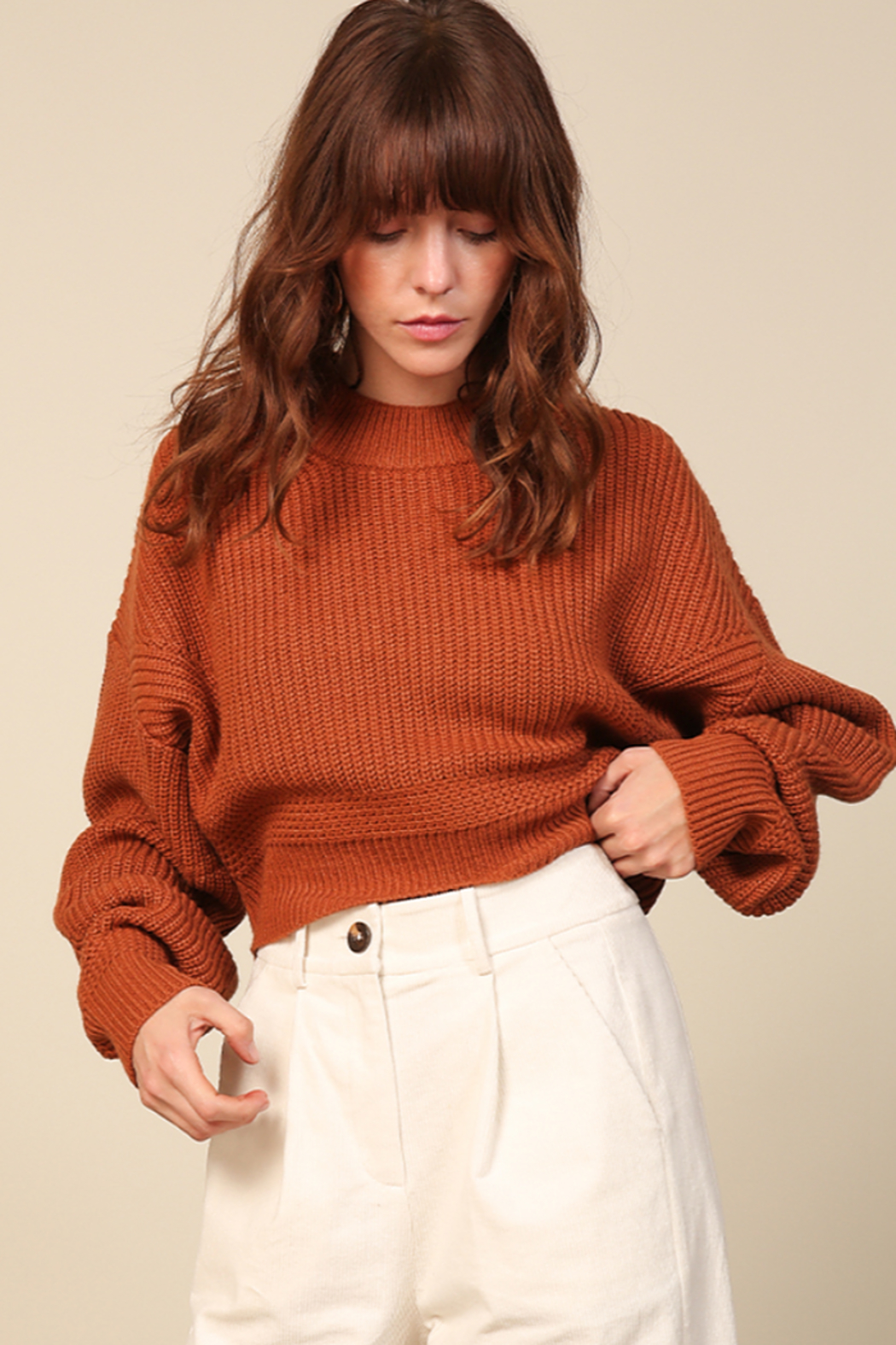 Line & Dot Sienna Sweater - Front Full Image