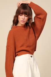Line & Dot Sienna Sweater - Front cropped
