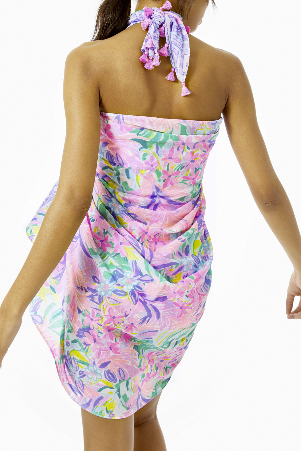 Lilly Pulitzer Sienna Wrap - Back Cropped Image