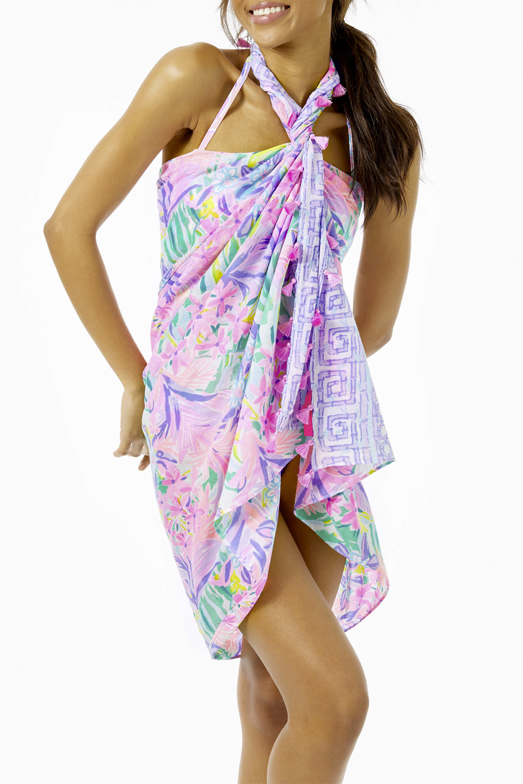 Lilly Pulitzer Sienna Wrap - Side Cropped Image