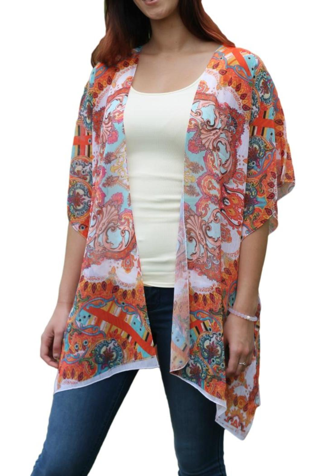 Sienna Rose Paisley Kimono Cardigan from Michigan by Posh Boutique ...