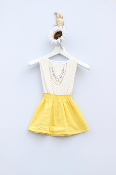 Sierra Julian Yellow Necklace Dress - Product List Image