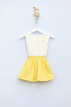 Sierra Julian Yellow Necklace Dress - Alternate List Image