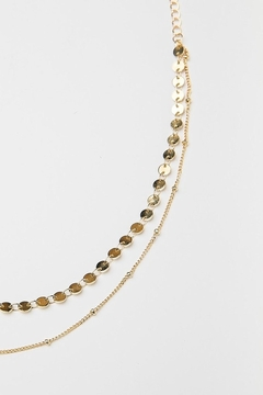 BRENDA GRANDS JEWELRY Sigma Double Choker Necklace - Product List Image