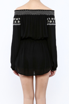 Shoptiques Product: Embroidered Smock Top