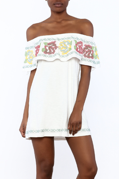 Shoptiques Product: Embroidered Top Dress
