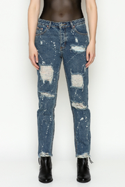 Signature 8 High Waisted Jeans - Front full body