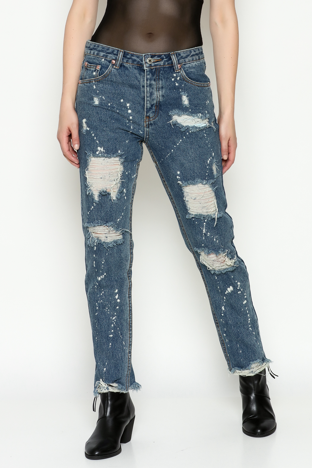 Signature 8 High Waisted Jeans - Main Image