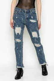Signature 8 High Waisted Jeans - Front cropped