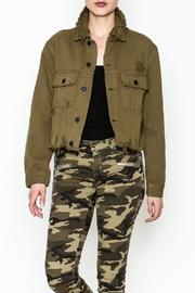 Signature 8 Twill Cropped Jacket - Product Mini Image
