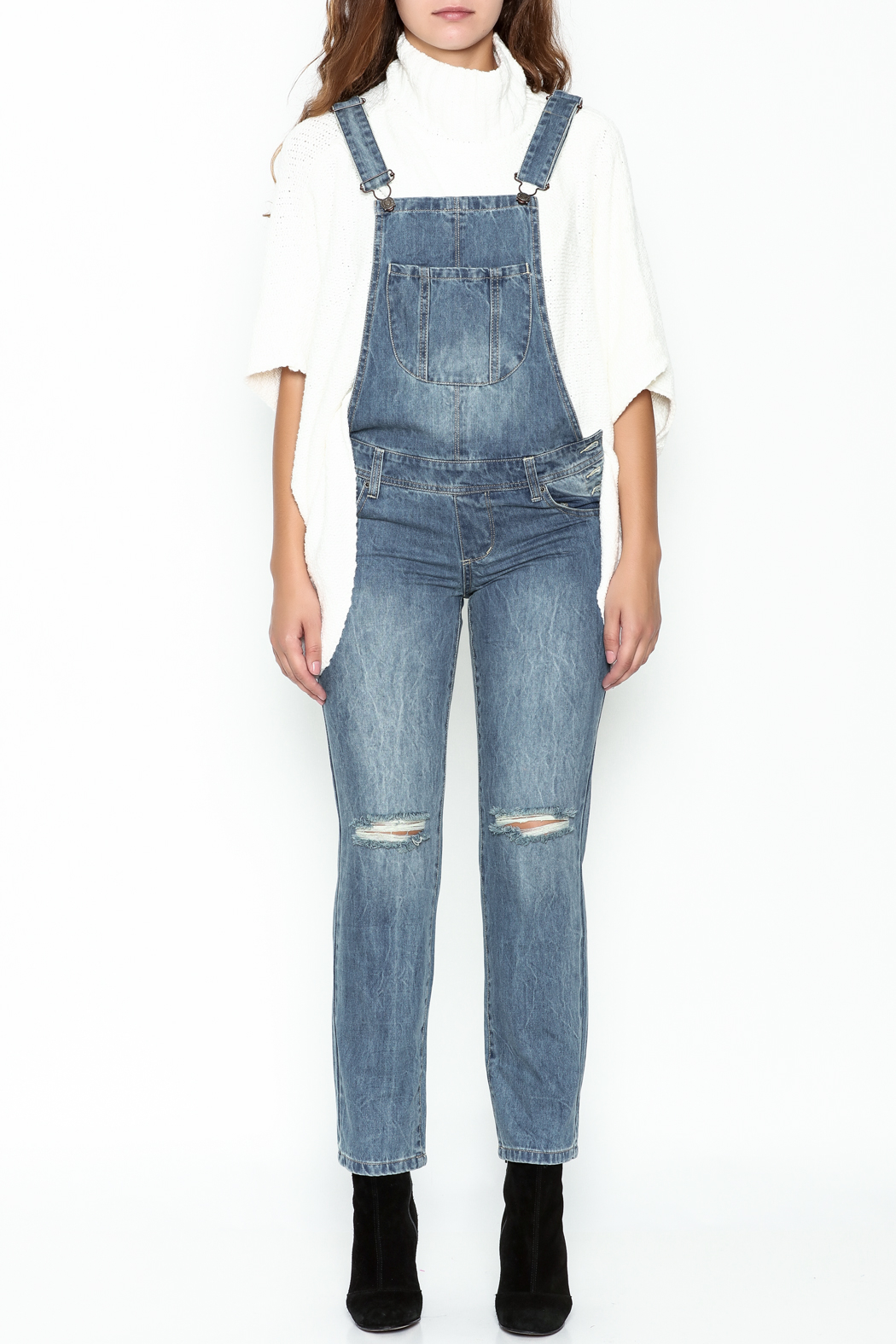 Signature 8 Ripped Overalls - Front Full Image