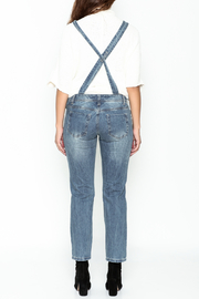 Signature 8 Ripped Overalls - Back cropped