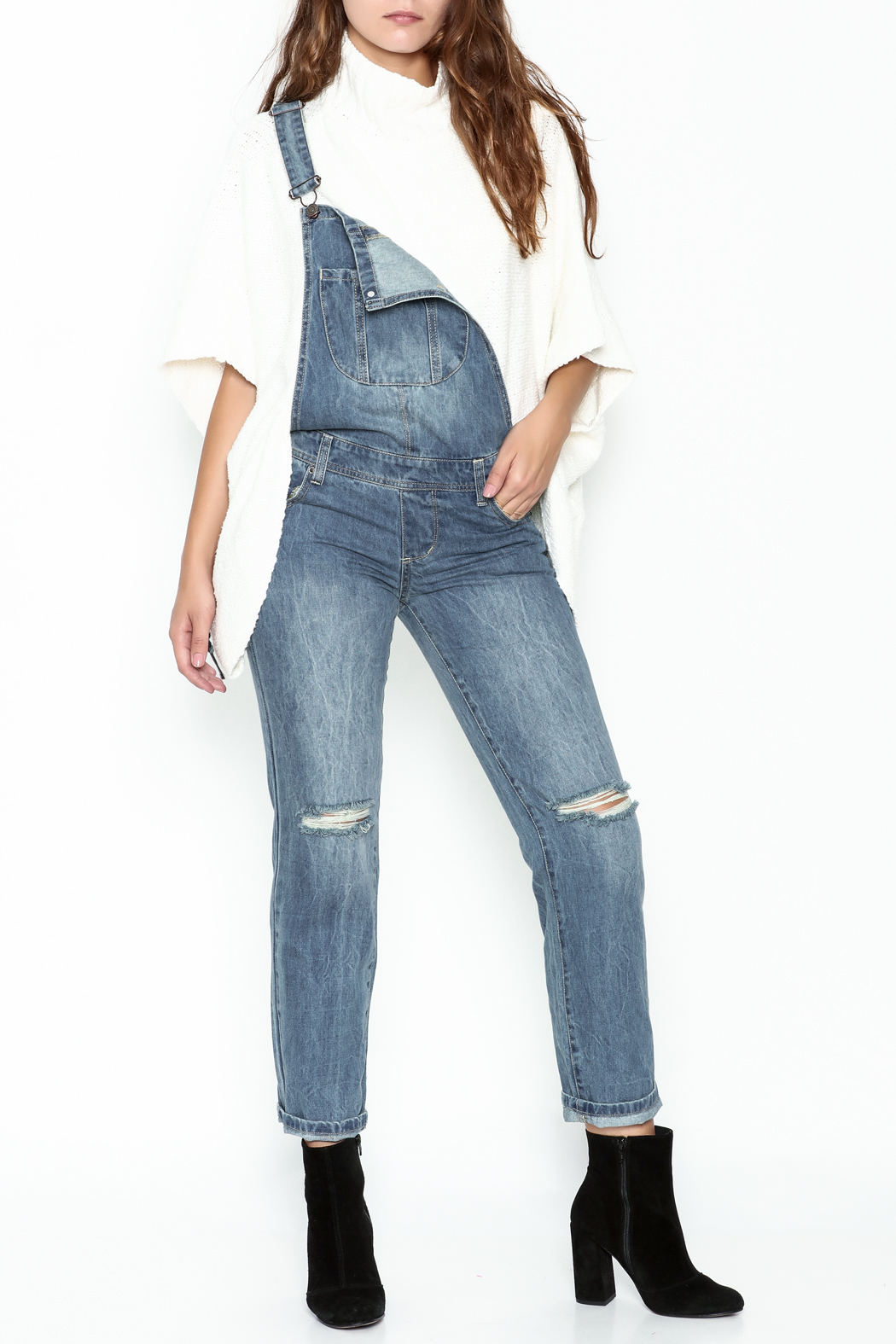 Signature 8 Ripped Overalls - Main Image