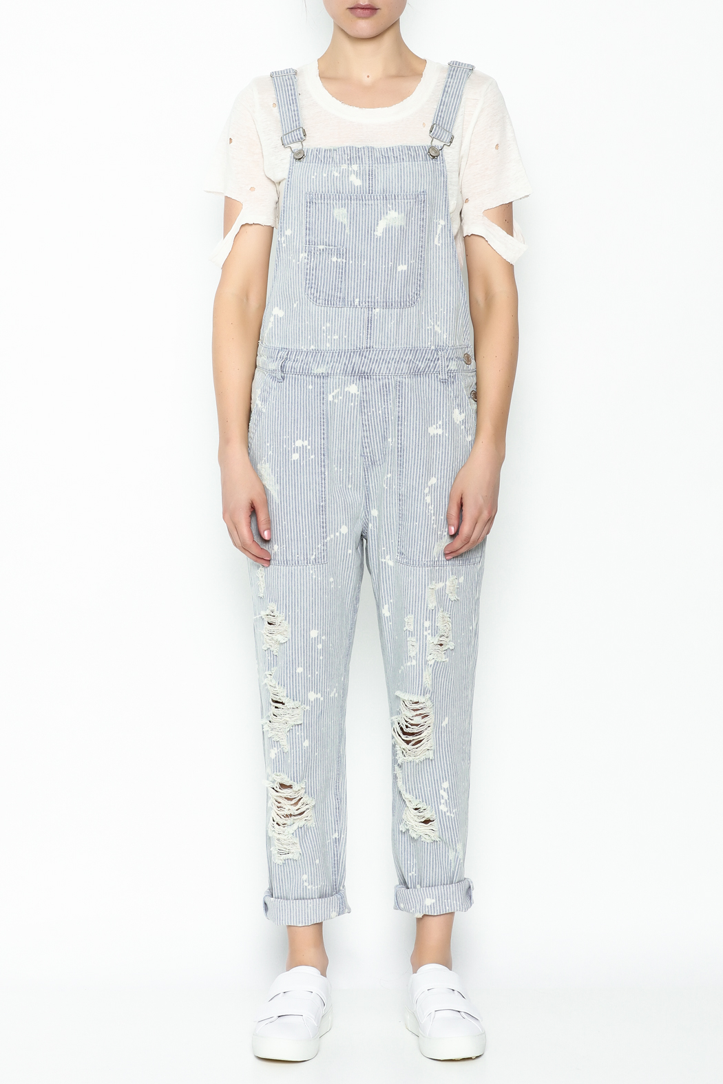 Signature 8 Stripe Overall - Front Full Image