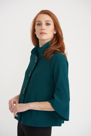 Joseph Ribkoff  Signature Tulip Sleeve Jacket - Product Mini Image