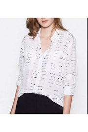 Equipment Signature Blouse - Front cropped