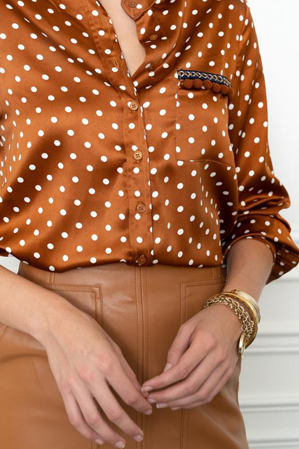 The Shirt  SIGNATURE BUTTON DOWN SHIRT - Front Full Image