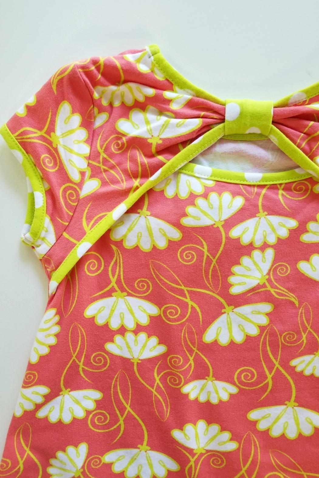 Three Friends Apparel Signature-Flower A-Line Tunic - Front Full Image