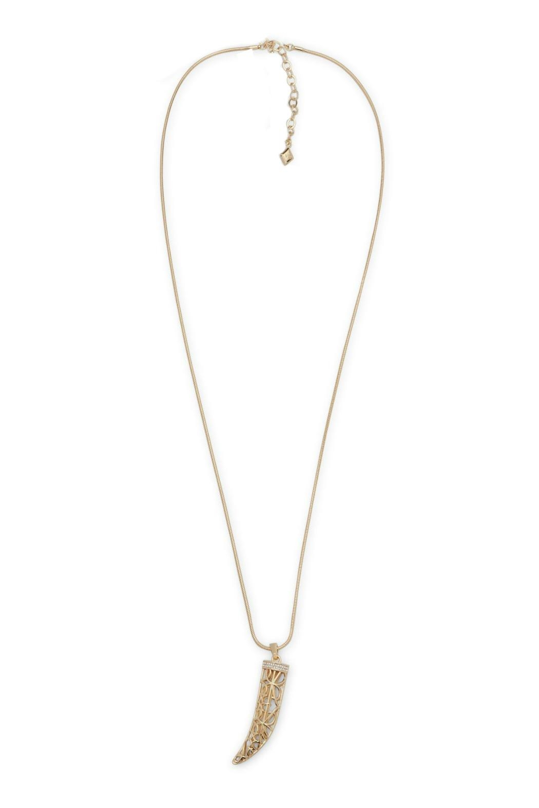 Vera Bradley Signature Horn Necklace - Front Full Image