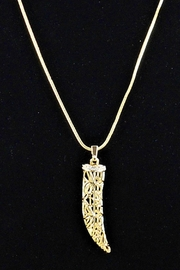 Vera Bradley Signature Horn Necklace - Front cropped