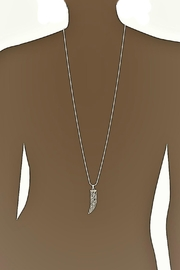 Vera Bradley Signature Horn Necklace - Side cropped
