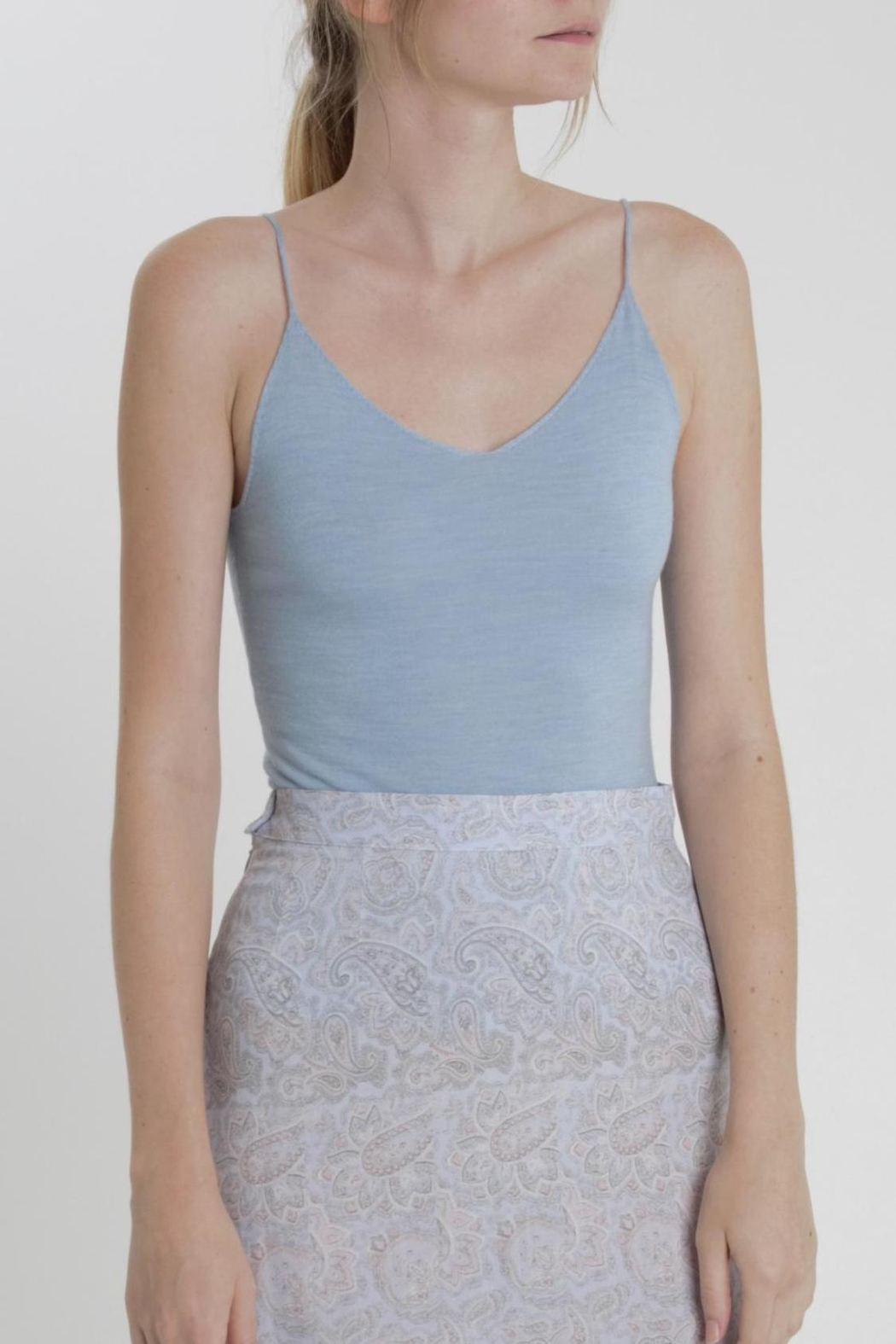 Thread+Onion Signature Knit Tank - Front Cropped Image