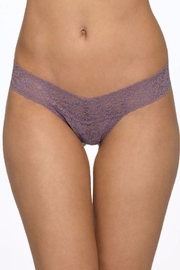 Hanky Panky Signature Lace Low Rise Thong - Front full body