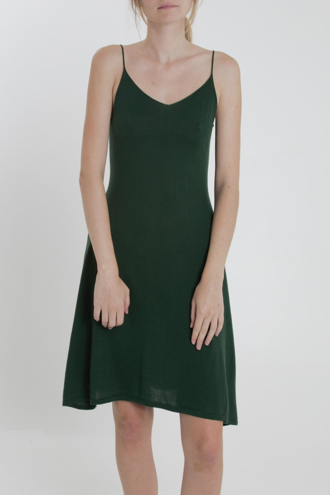 Thread+Onion Signature Tank Dress - Front Cropped Image