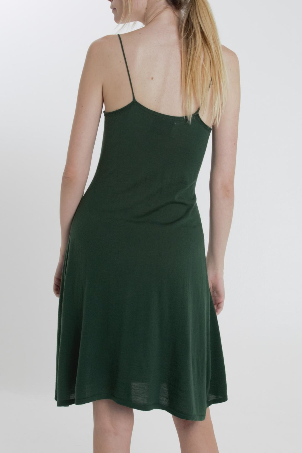 Thread+Onion Signature Tank Dress - Side Cropped Image
