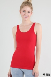 Nikibiki Signature Wide Strap Tank, Multiple Colors - Front cropped