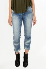 SIGNATURE8 Splatter Boyfriend Jeans - Product Mini Image