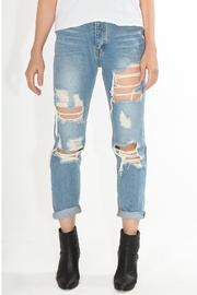 SIGNATURE8 Vintage Destroyed Jeans - Product Mini Image