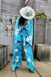 Signature 8 Aqua Blue Jumpsuit - Other