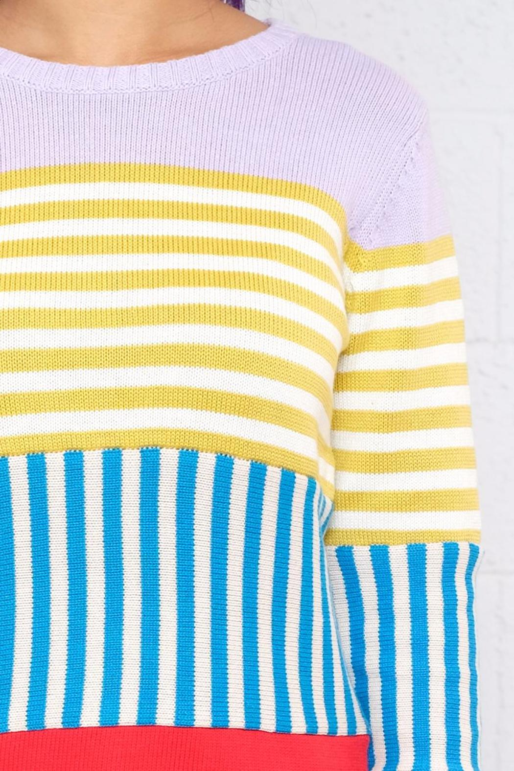 Signature 8 Block Stripe Sweater from Vancouver by 8th & Main ...