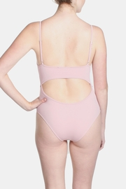 Signature 8 Blush Cross Straps Swimsuit - Back cropped