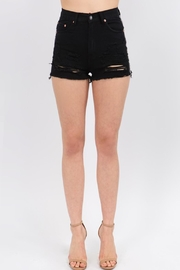 Signature 8 Check Stripe Shorts - Front full body
