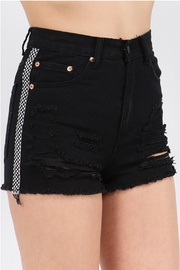 Signature 8 Check Stripe Shorts - Product Mini Image