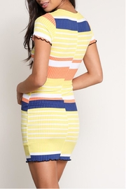 Signature 8 Colored Stripe Dress - Side cropped