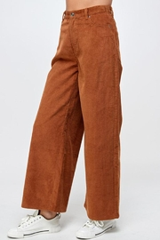 Signature 8 Corduroy Wide-Leg Pants - Front full body